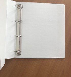 Папка с 4 D- образными кольцами Bantex 55мм.