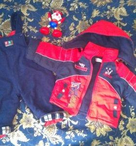 Пакет одежды для мальчика 1 года для дома/дачи