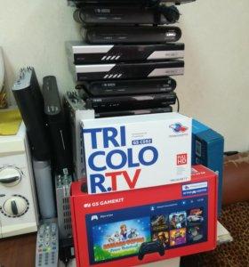 Системы Триколор ТВ на 2 ТВ с игровой приставкой