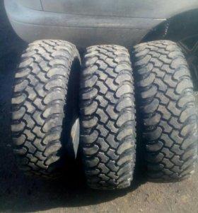 3 грязевые шины