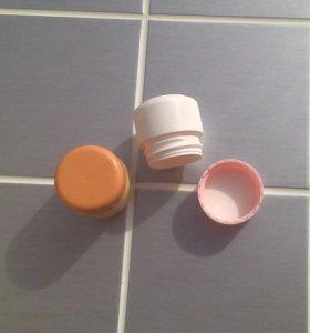 баночки для косметики, крема, бальзама (пустые)