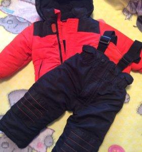 Комплект ( брюки и куртка) на весну-осень, р 80