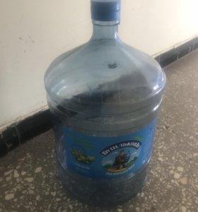 Бутыль пластиковая 19 литров