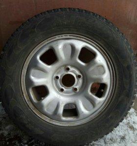 Продам колеса на Duster