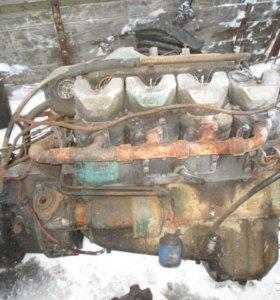Двигатель scania, 8-ми цилиндр, V-образный