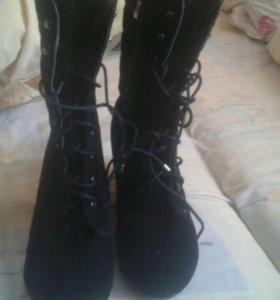 Зимняя обувь ботинки