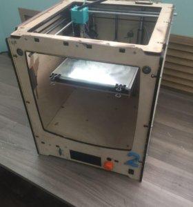 3D Принтер. Клон Ultimaker деревянный корпус