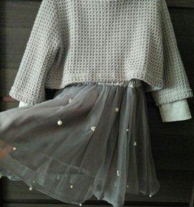 Платье двойка для девочки