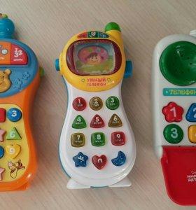 Музыкальный телефон для детей