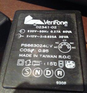 Адаптер-блок питания VeriFone 2 х 12v