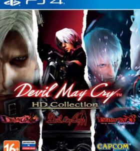 PS4 Devil May Cry HD Collection, новый.