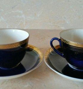 Чайные пары кобальт ЛФЗ.