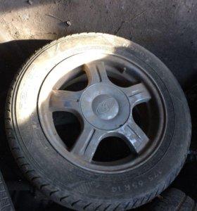 Комплект колес R14 на литых дисках на ВАЗ
