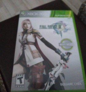 Диск на xbox 360 Final Fantasy. XIII