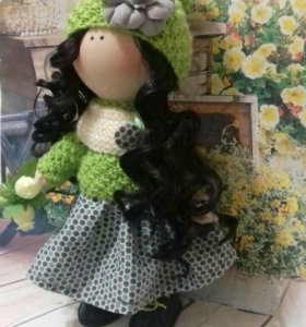 Куколки текстильные ручной работы