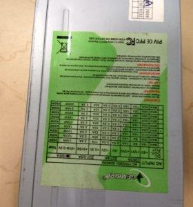 ATX 400WT Gembird 24p/4p/6p/4xMolex/1xSata