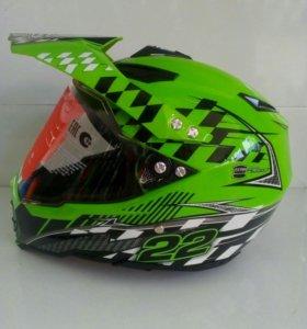 Шлем кроссовый WLT 128