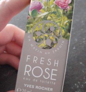 Yves Rocher Fresh Rose 20мл