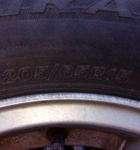 Комплект колёс 205 /65/ r15 Turanza ER300