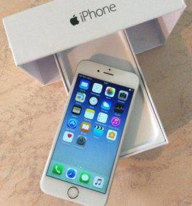 iPhone 6 16 silver новый