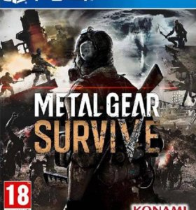 "PS4 ""Metal Gear Survive"", новый."