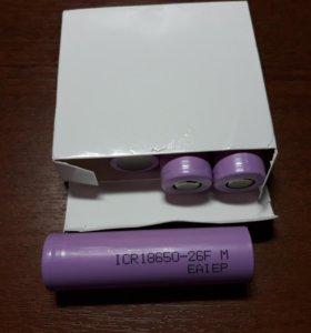 Аккумулятор eaiep ICR18650-26F 26f 2600 мАч