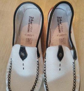 Туфли (мокасины)мягкая кожа