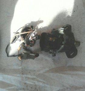 Трамлер,рулевая рейка,головка дв.5а,кузов100