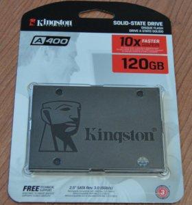 """Жесткий диск SSD 2.5"""" Kingston A400 120 Gb"""