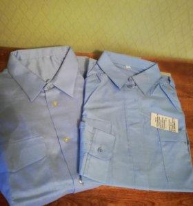 Рубашки форменные женские
