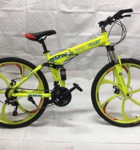Велосипеды складные 24 скорости на литых дисках
