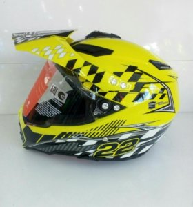 Шлем кроссовый WLT128