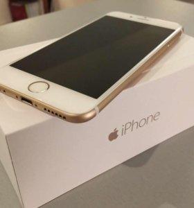 Айфон 6,64 Gold  с Touch ID