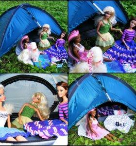 Палатка для кукол. 1/6.