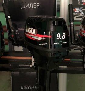 Лодочный мотор ханкай 9,8 л.с.