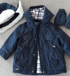 Куртка и шапка Sergent Magor (12 мес.)