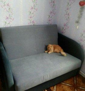 Малогабаритный раздвижной диван