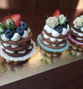 капкейки, пирожные, торты, сладкий стол
