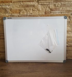 Доска для записей маркером магнитная