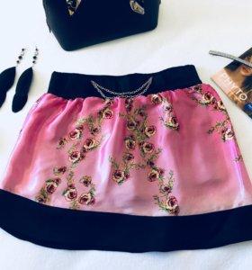 Новая юбка-шорты
