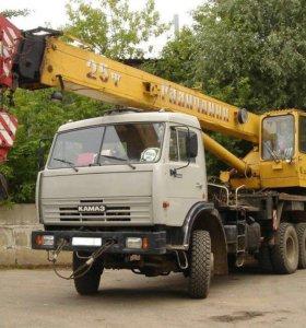 Автокран-25 тон