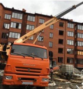 14,16,24 тонн - автокран в Обнинске