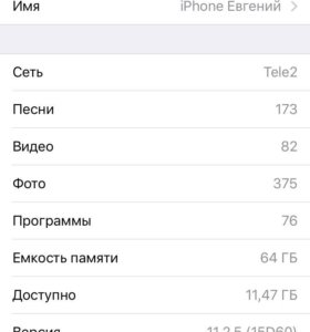 iPhone 6s 64gb на гарантии