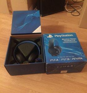 Наушники PlayStation Wireless Stereo Headset 2.0