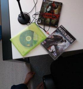 Deadpool Pc,watch dogs Pc,Batman Xbox 360,Микрофон