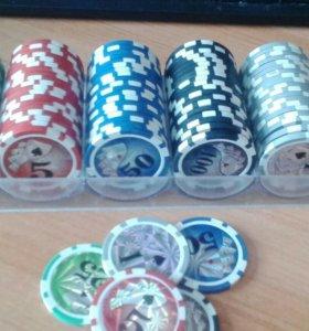 Фишки для покера и тд в идеальном состоянии
