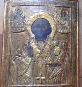 Икона Николай Чудотворец 18век