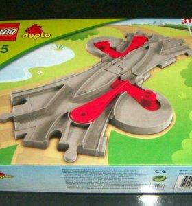 Лего дупло стрелки lego duplo 3775 для поезда
