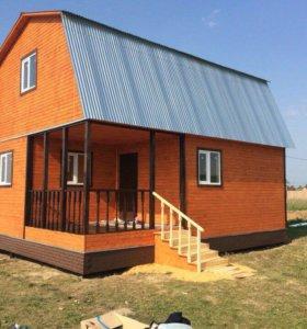 Строительство каркасные и щитовые дома
