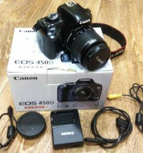 Зеркальный фотоаппарат Canon EOS 450D